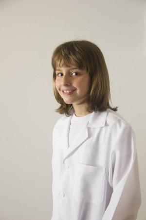 Avental Juvenil Unisex em Oxford Rosário