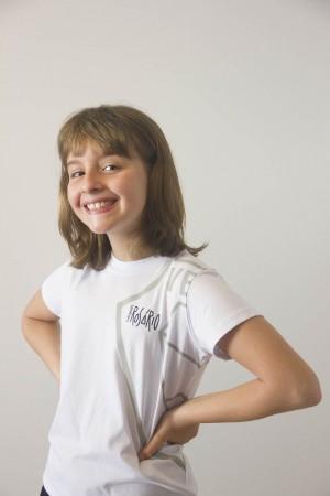 Camiseta Feminina Infantil Baby Look Rosário