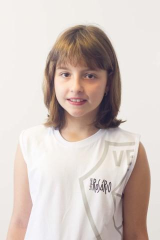 Camiseta Infantil Feminina Cavada Rosário
