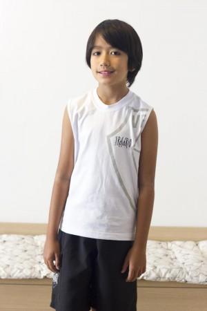 Camiseta Cavada Infantil Masculina Rosário