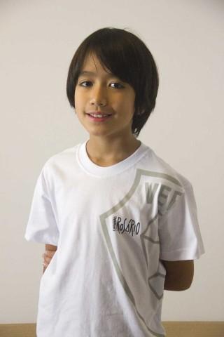 Camiseta Manga Curta Infantil - Rosário