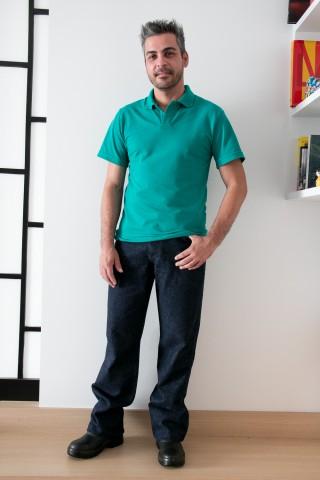 Camiseta Pólo Masculina Manga Curta