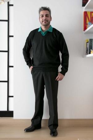 Blusa de Lã Masculina (2 fios)