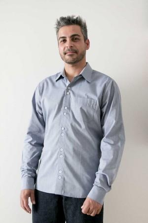 Camisa Social Slim - Manga Longa